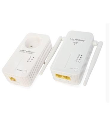 Pack Powerline PLC 600Mbps com Repetidor WiFi 300 - 495435