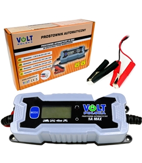Carregador Baterias Chumbo/ AGM/ Gel, 6V e 12V 5Ah - MX0353460