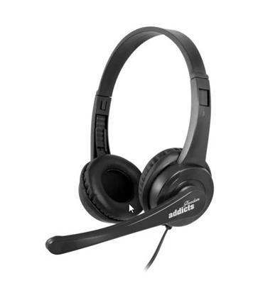 VOX505USB - Headset USB com Microfone Preto - VOX505USB