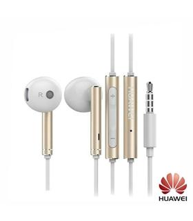 AM116-Auscultadores Stereo C/ Fios C/ Micro Dourado HUAWE - AM116