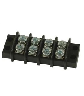 1546307-4 - TERMINAL BLOCK, BARRIER, 4POS, 12AWG - MX15463074