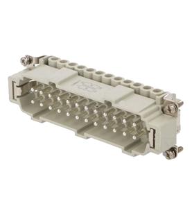 CNEM24TN - Conector Retangular HDC, 24 Pinos, Macho - CNEM24TN
