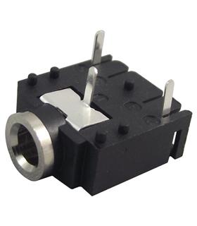 Jack 3.5mm Stereo Para Circuito Impresso - J3SCI