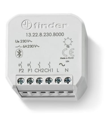 13.22.8.230.B000 - Atuador YESLY 6A BLE Bluetooth - F13228230B000