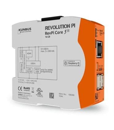 PR100300 - Revolution PI - RevPi Core 3+ 16Gb - PR100300