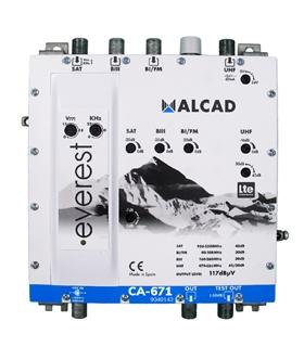 Amplificador multibanda 4 entradas, 1 saida, LTE 700 - CA-671