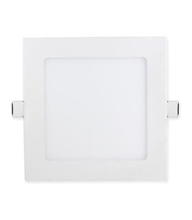 Downlight LED Quadrado Branco 18W 1390..1420lm 3000K 225x225 - MX3062384