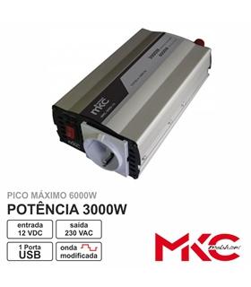 Conversor Valleman 12/220V 3000W - KPI3000