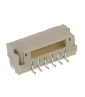 SM06B-GHS-TB - Conector, JST, serie GH, 90º, 6 Pins - SM06BGHSTB