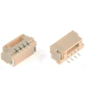 SM04B-GHS-TB - Conector, JST, serie GH, 90º, 4 Pins - SM04BGHSTB