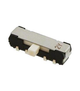 CL-SB-23A-11T - Interruptor Deslizante, DP3T, 200mA - CL-SB-23A-11T
