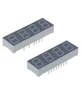LTC-4727E - Display 7 Segmentos, 4 Digitos, Laranja - LTC4727E