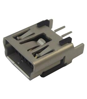 500075-0517 - Ficha Mini USB Tipo B, USB 2.0 para CI Vertic - MUSBCI21