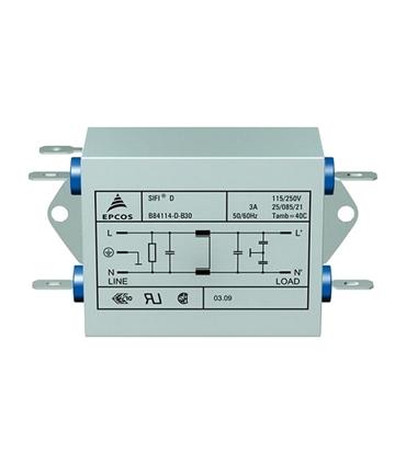 B84114D0000B060 - Power Line Filters 6A 115/250V 2-LINE - B84114D0000B060