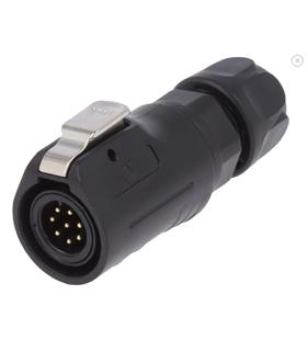 0250 08 - Conector, Circular, Macho, 8 Pin - 0250-08
