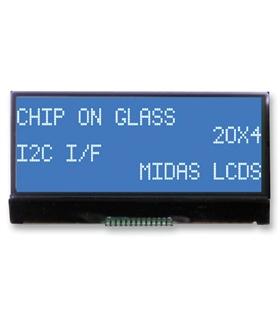 MCCOG42005A6W-BNMLWI - Alphanumeric LCD, 20x4 STN Neg - MCCOG42005A6W