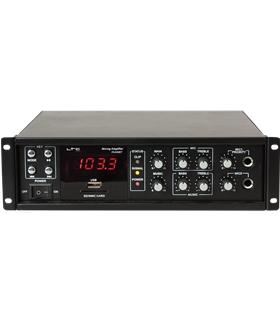 Amplificador 4 Canais 100V/70V/8/4Ohm 80W - PAA80BT