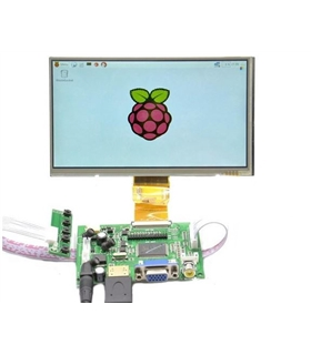 "RASPLCD10 - Kit LCD 9.7"" para Raspberry com HDMI e VGA - RASPLCD10"