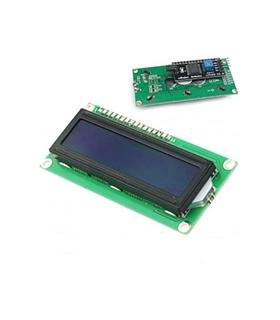 Display LCD 16x2 Azul Com Driver c/ Caracteres Branco - MX0171092