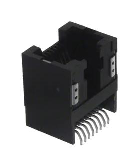 RJLSE4208101T - Ficha RJ45 Para PCB, 180º, Amphenol - RJLSE4208101T