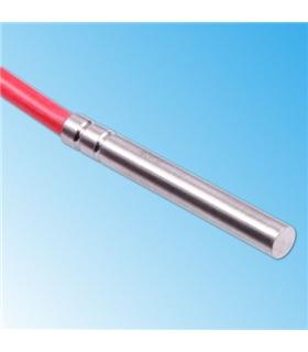 Sonda PT1000 6x40mm - Cabo em Silicone - PT1000-6X40S