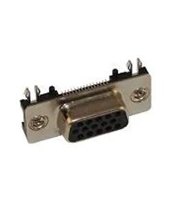 200-015-213L539 - Ficha DHD 15 Pinos Femea Circuito Impresso - 200015213L539