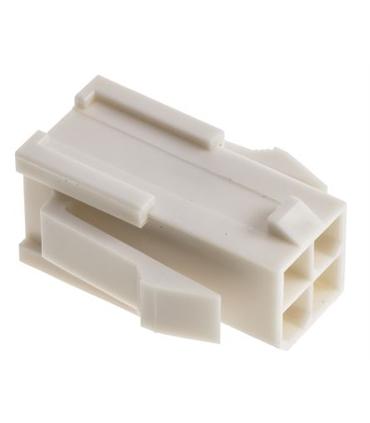 39-01-2046 - Ficha Mini-Fit Jr, 4.2mm, 4 Pinos, Macho - MX39012046