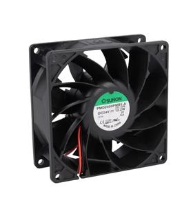 MF80252V3-1000U-199 - Ventilador 24V 80x80x25mm 2 Fios 0.96W - MF80252V31000UA99