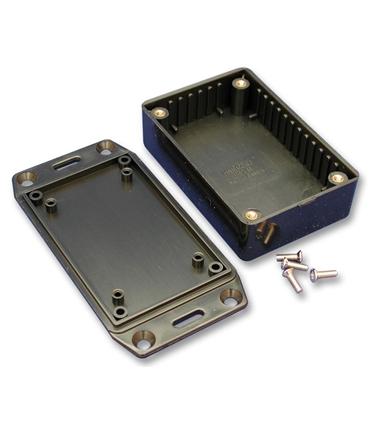 1591CSFLBK - Caixa Plastica, ABS, 120x65x40mm, Preto - 1591CSFLBK