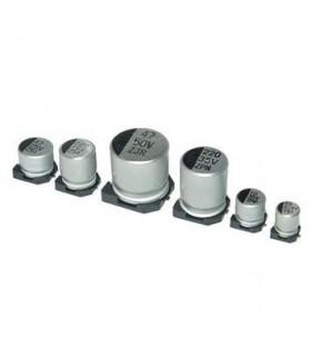 Condensador Electrolitico 100uF 25V - 3510025